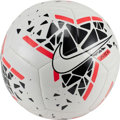 Nike Pitch Soccer Ball (White/Black)