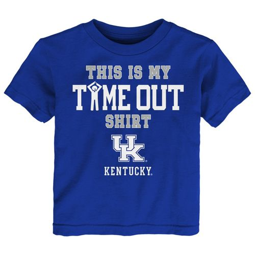 Infant Kentucky Wildcats Time Out T-Shirt (Royal)