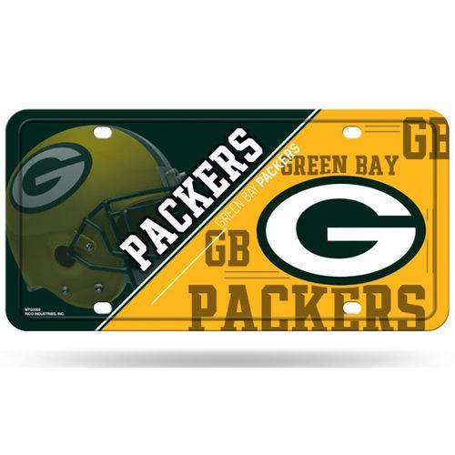 Green Bay Packers Logo Metal License Plate