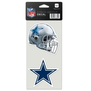 Dallas Cowboys Die-Cut Decal Duo
