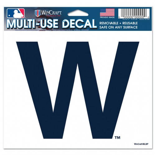 "Chicago Cubs ""W"" Multiple Use Decal"