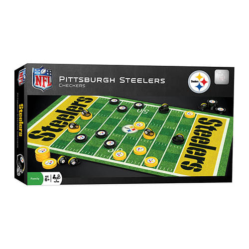 Pittsburgh Steelers Checkers Game