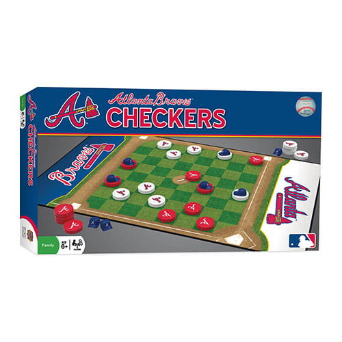 Atlanta Braves Checkers Game