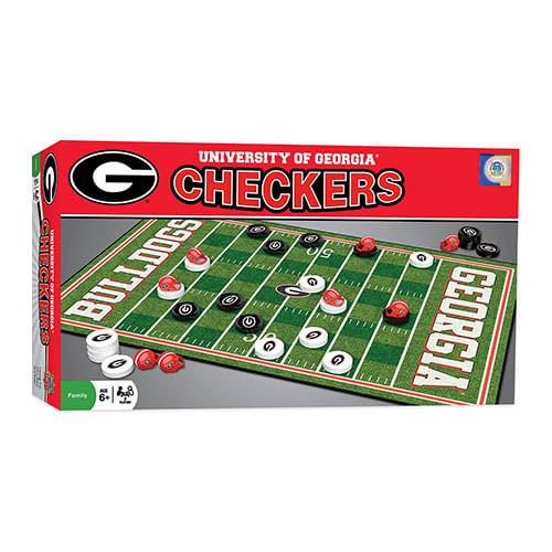 Georgia Bulldogs Checkers Game