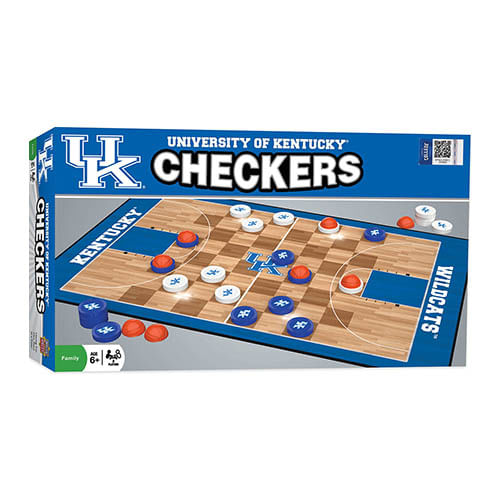 Kentucky Wildcats Checkers Game