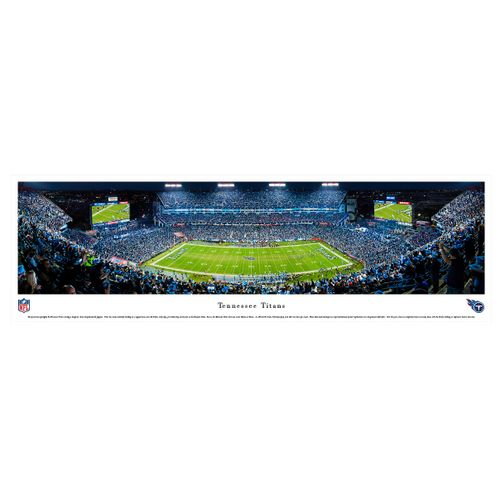 Tennessee Titans Night Panorama