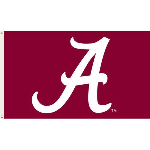 Alabama Crimson Tide Logo Flag