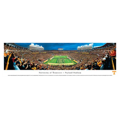 Tennessee Volunteers End Zone Panorama