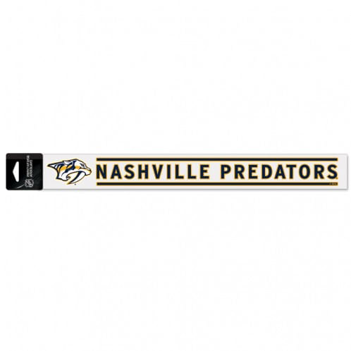 "Nashville Predators 2""X17"" Perfect Cut Decal"