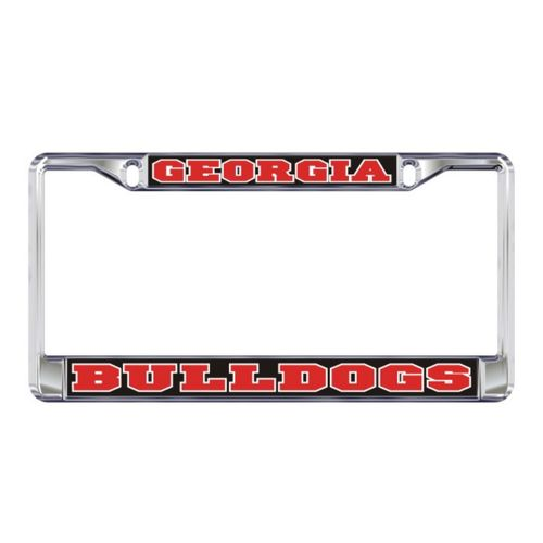 Georgia Bulldogs Domed License Plate Frame