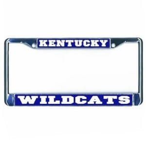 Kentucky Wildcats Domed Metal License Plate Frame