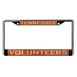 Tennessee Volunteers Domed Metal License Frame