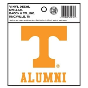 Tennessee Volunteers Alumni Decal