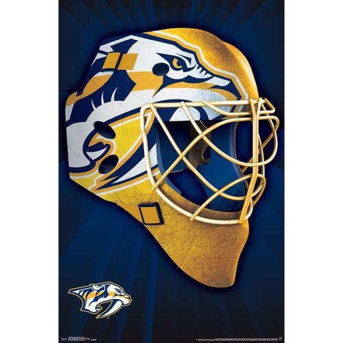 Nashville Predators Hockey Mask Poster