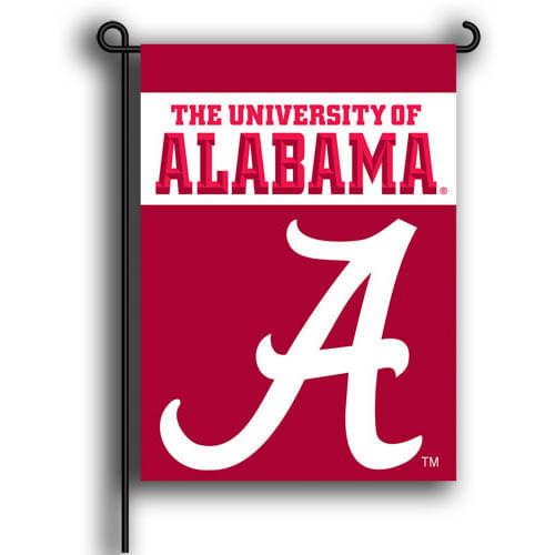 Alabama Crimson Tide 2 Sided Garden Flag