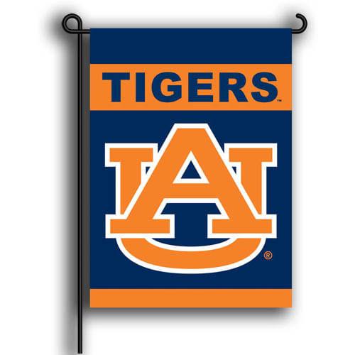 Auburn Tigers 2 Sided Garden Flag