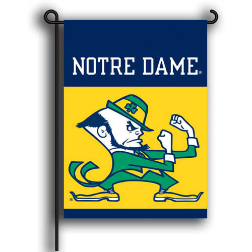 Notre Dame Fighting Irish 2 Sided Garden Flag
