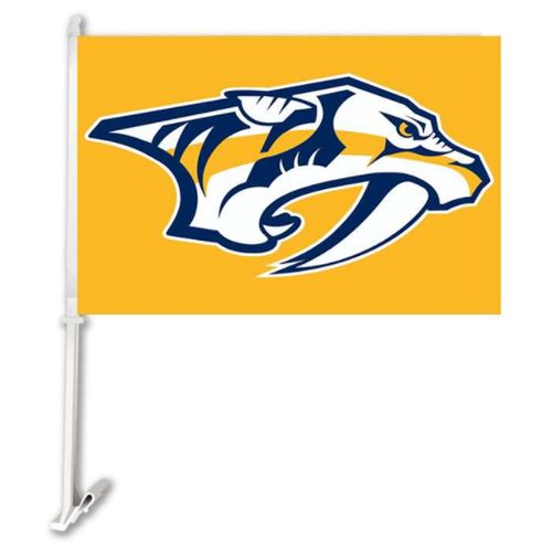 Nashville Predators Car Flag (Gold)