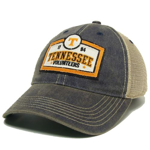 Legacy Tennessee Volunteers Scoreboard Old Favorite Trucker Adjustable Hat (Navy/Mesh)