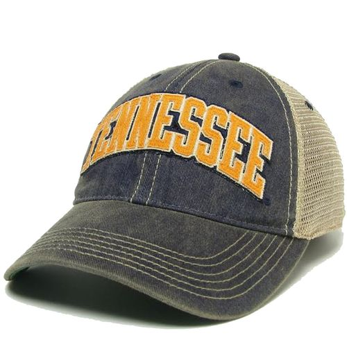 Legacy Tennessee Volunteers Arched Old Favorite Trucker Adjustable Hat (Navy)