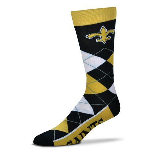 New Orleans Saints Argyle Sock