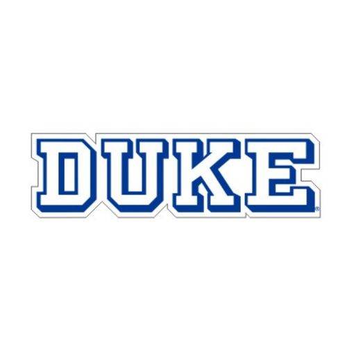 "Duke Blue Devils 4"" Decal"