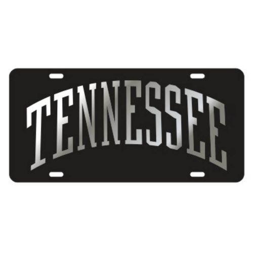 Tennessee Volunteers Arch Laser License Plate (Black)