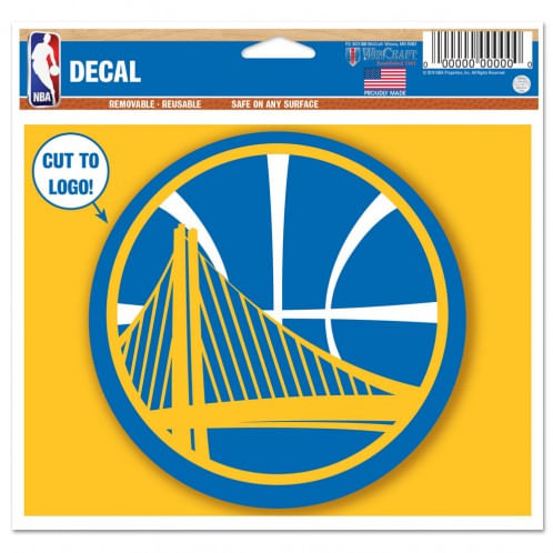 Golden State Warriors Multiple Use Decal
