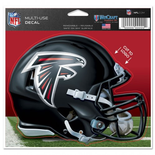 Atlanta Falcons Multi-Use Helmet Decal