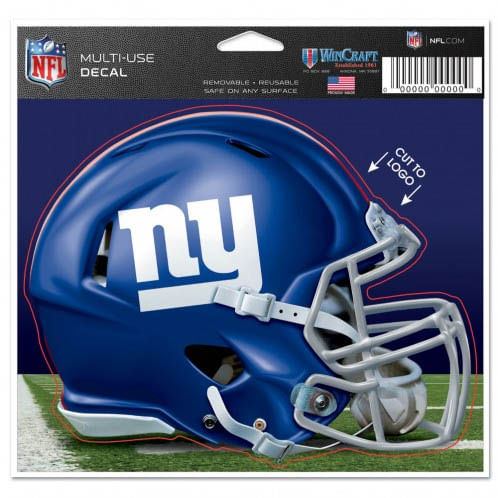New York Giants Multi-Use Helmet Decal