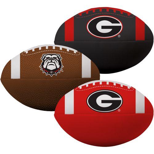 Georgia Bulldogs 3 Pack of Softee Footballs