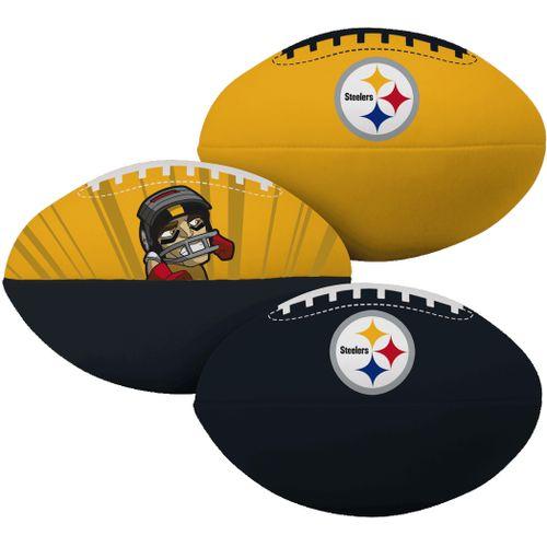 Pittsburgh Steelers 3 Pack of Softee Footballs