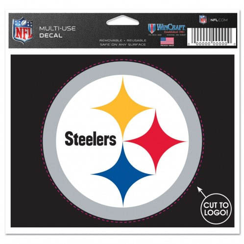 Pittsburgh Steelers Logo Cut to Decal