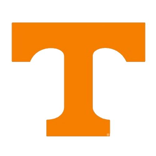 "Tennessee Volunteers 12"" Power T Decal"