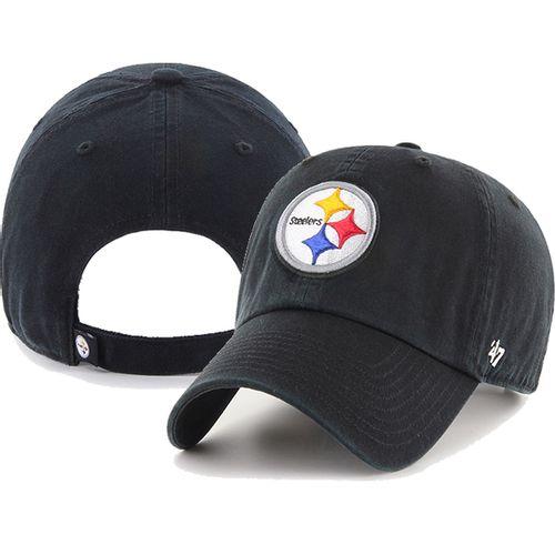 '47 Brand Pittsburgh Steelers Clean Up Adjustable Hat (Black)