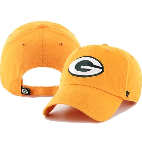 '47 Brand Green Bay Packers Alternate Clean up Adjustable Hat (Gold)