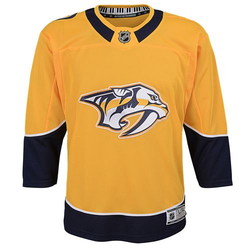 Kid's Nashville Predators Premier Home Jersey (Gold)