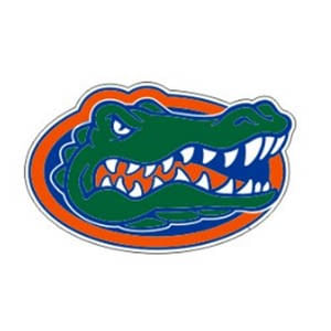 Florida Gators Gator Head Decal