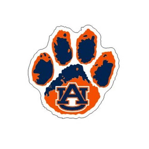 Auburn Tigers Paw Decal