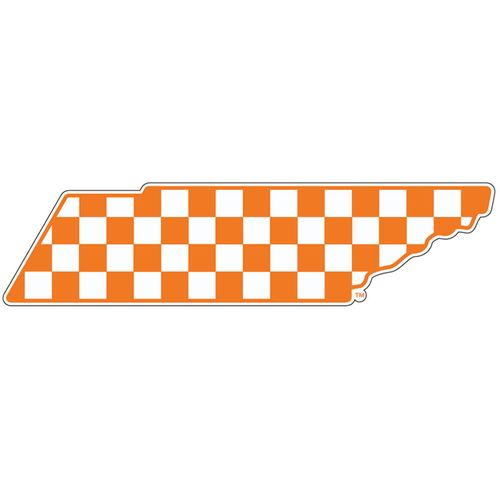 Tennessee Checkerboard State Decal
