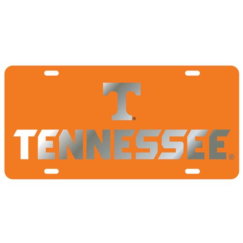 Tennessee Laser Cut License Plate (Orange)