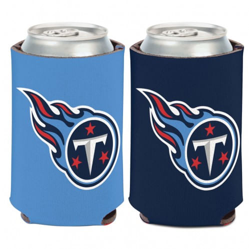 Tennessee Titans Logo Double Sided Can Cooler