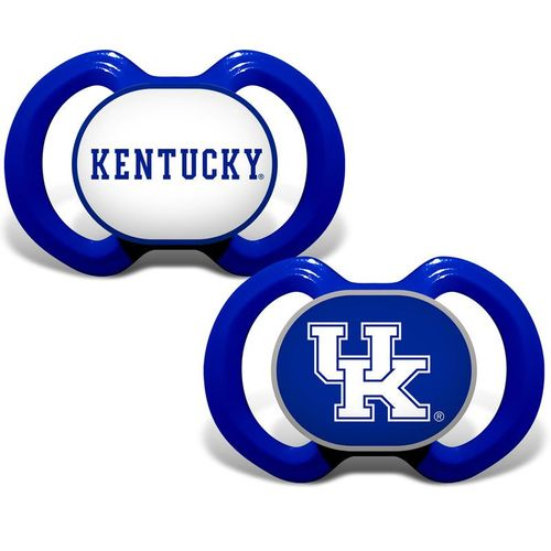 Kentucky Wildcats 2-Pack Pacifiers (Royal)