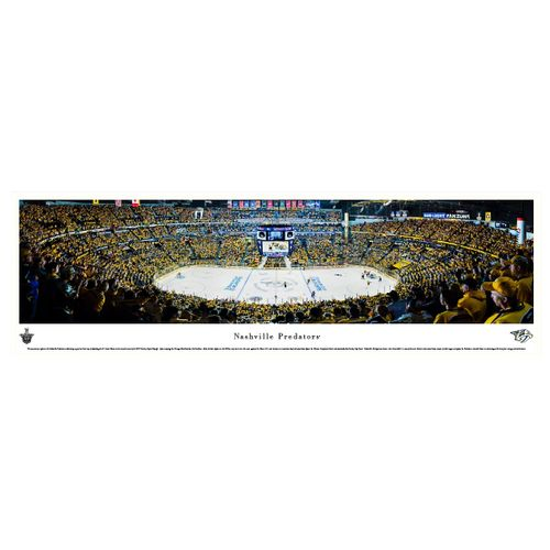 Nashville Predators Playoffs Panorama