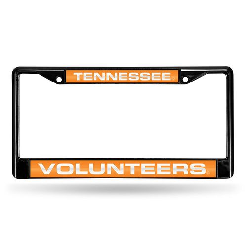 Tennessee Volunteers Laser Chrome License Plate Frame (Chrome)