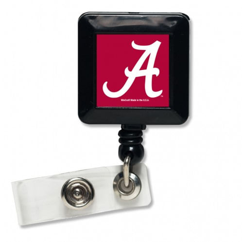 Alabama Crimson Tide Retractable Badge Holder