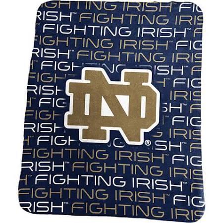 Notre Dame Fighting Irish Classic Fleece Blanket