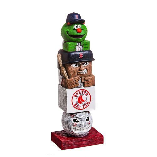Boston Red Sox Tiki Totem Statue