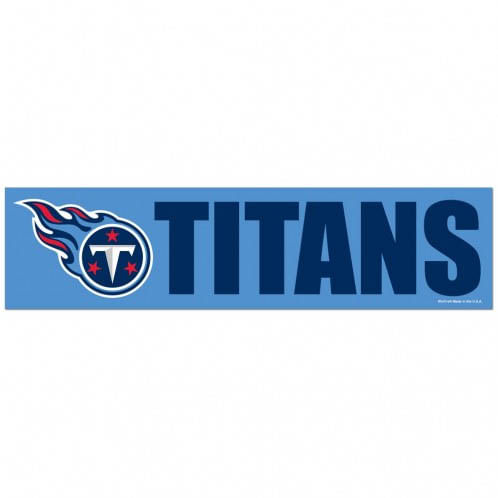 Tennessee Titans Bumper Strip