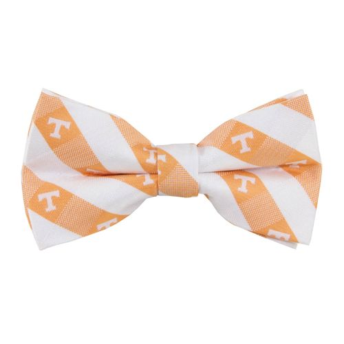 Tennessee Volunteers Checkered Bow Tie (White/Orange)
